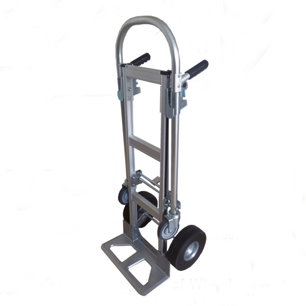 2 in 1 Aluminum Hand Truck (ZRDHT-1007A)